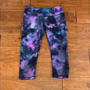 Lucy tie dye cropped leggings medium